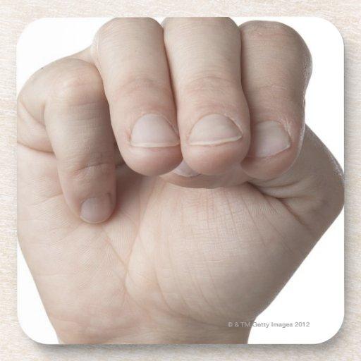 American Sign Language 18 Coaster