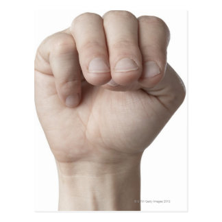 American Sign Language 18 Postcard