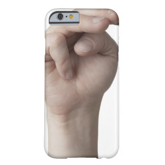American Sign Language 19 Barely There iPhone 6 Case