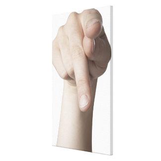 American Sign Language 20 Canvas Print