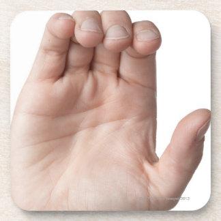 American Sign Language 21 Drink Coaster