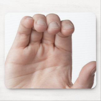 American Sign Language 21 Mouse Pad