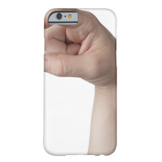 American Sign Language 24 Barely There iPhone 6 Case
