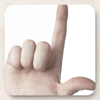 American Sign Language 25 Coaster