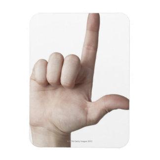 American Sign Language 25 Magnet