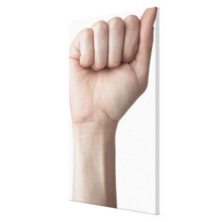 American Sign Language 26 Canvas Print