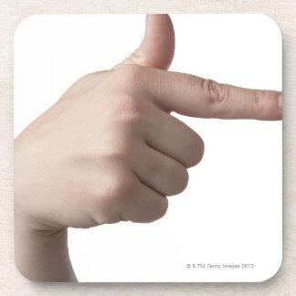American Sign Language 28 Drink Coaster