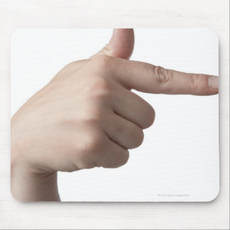 American Sign Language 28 Mouse Pad