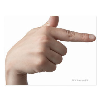 American Sign Language 28 Postcard