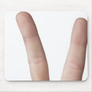 American Sign Language 3 Mouse Pad