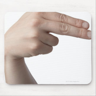 American Sign Language 4 Mouse Pad