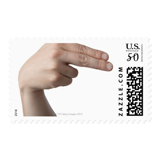 American Sign Language 4 Postage