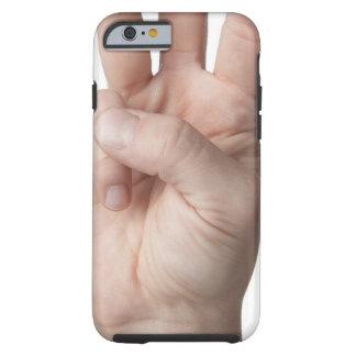 American Sign Language 6 Tough iPhone 6 Case