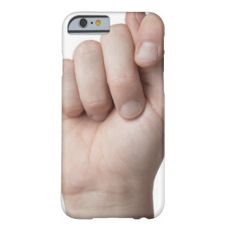 American Sign Language 9 Barely There iPhone 6 Case