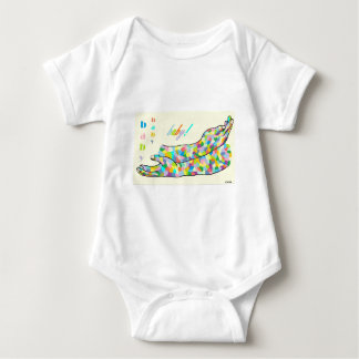 American Sign Language for BABY Baby Bodysuit