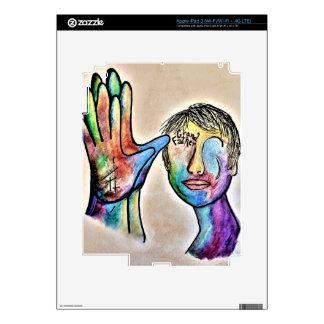 American Sign Language GRANDFATHER iPad 3 Decals