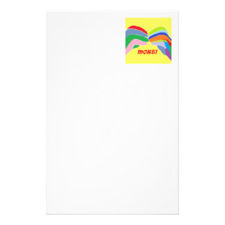 American Sign Language MORE Stationery