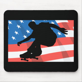 American Skateboarder Mouse Pad
