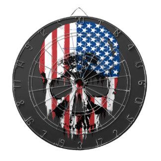 American Skull Dart Board