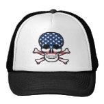 American Skull Mesh Hat