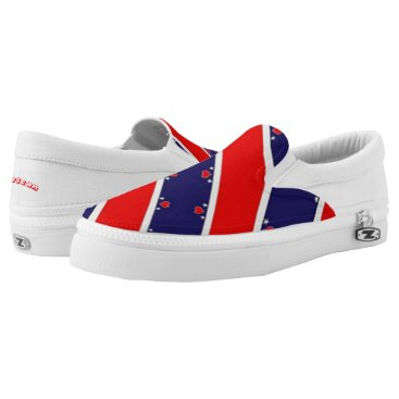 USA Themed American Slip-On Sneakers