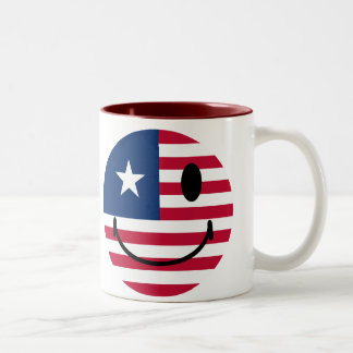 American Smiley Mugs