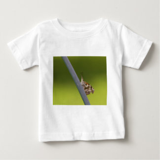 American Snout Butterfly on Green Background Baby T-Shirt