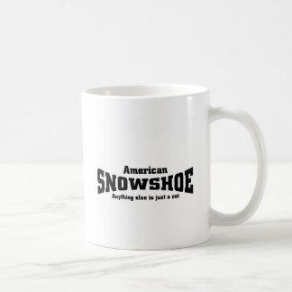 American Snowshoe Coffee Mug