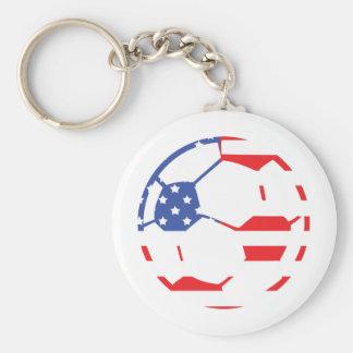 american soccer icon keychain