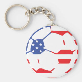 american soccer icon keychain