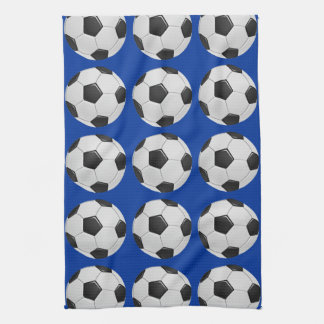 American Soccer or Association Football Ball Hand Towel