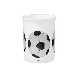American Soccer or Association Football Ball Pitcher