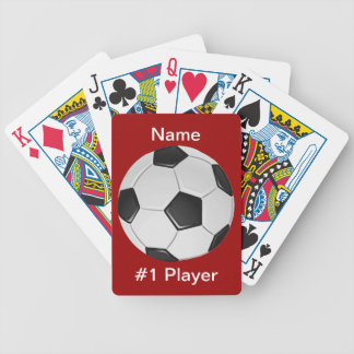 American Soccer or Association Football Bicycle Playing Cards