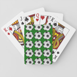 American Soccer or Association Football Playing Cards