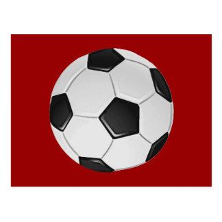 American Soccer or Association Football Postcard