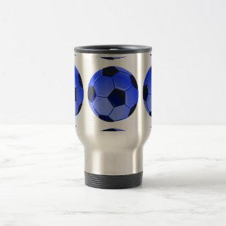 American Soccer or Association Football Travel Mug