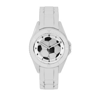 American Soccer or Association Football Wristwatch