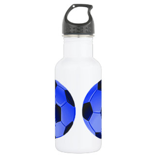American Soccer or Association Football Water Bottle