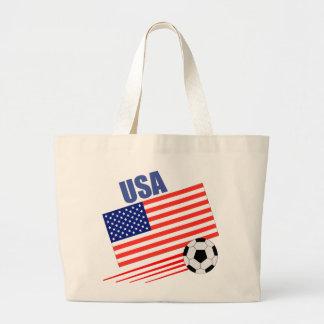 American Soccer Team Canvas Bags