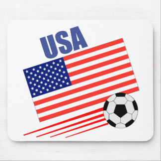 American Soccer Team Mouse Pad