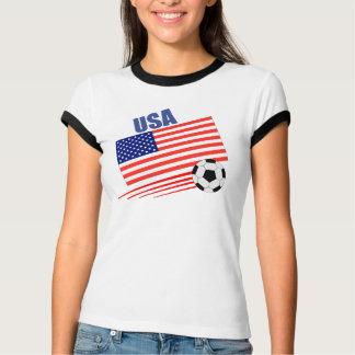 American Soccer Team Tees