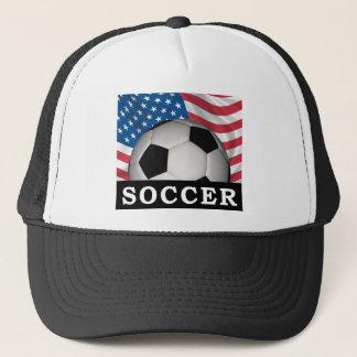 American Soccer Trucker Hat