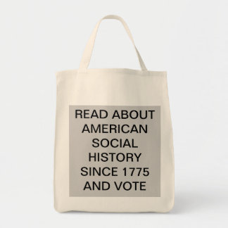 AMERICAN SOCIAL HISTORY TOTE BAG