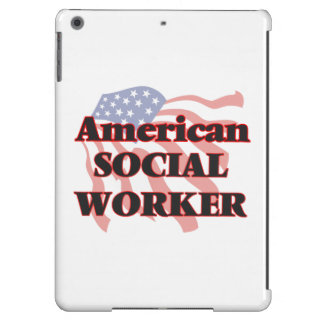 American Social Worker iPad Air Cases