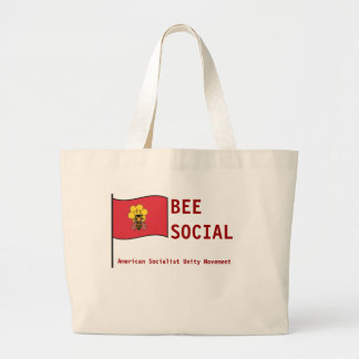 American Socialist Unity Movement Jumbo Tote Bag