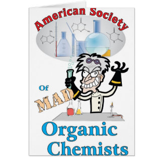 American Society of Mad Organic Chemists Card