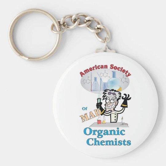 American Society of Mad Organic Chemists Keychain