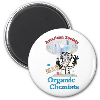 American Society of Mad Organic Chemists Magnet