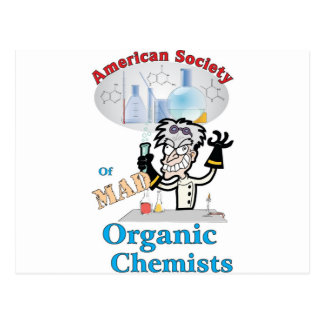 American Society of Mad Organic Chemists Post Cards