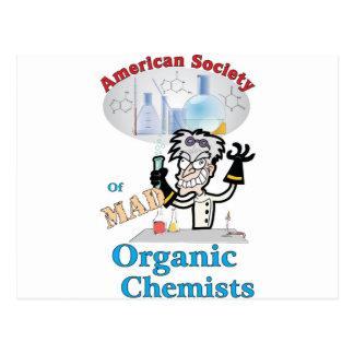 American Society of Mad Organic Chemists Postcard